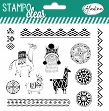 Aladine Stampo Clear Llamas (04229)