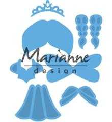 Marianne Design Creatable Kim's Buddies Princess (LR0529)