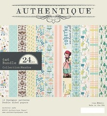 Authentique Meadow 6x6 Inch Paper Pad (MEA011)