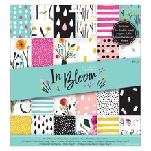 Papermania In Bloom 12x12 Inch Paper Pad (PMA 160271)