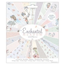Papermania Enchanted Meadow 6x6 Inch Paper Pad (PMA 160274)