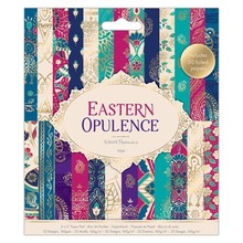 Papermania Eastern Opulence 6x6 Inch Paper Pad (PMA 160276)