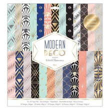 Papermania Modern Deco 12x12 Inch Paper Pad (PMA 160277)