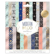 Papermania Modern Deco 6x6 Inch Paper Pad (PMA 160278)