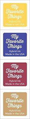 My Favorite Things Hybrid Ink Cubes - Set 19 (ICUBE-39)