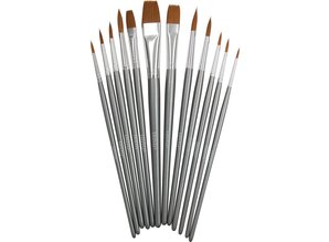 Nuvo Paint Brushes 12/Pkg (972N)