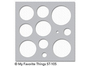 My Favorite Things Basic Shapes Circles Stencil (ST-105)