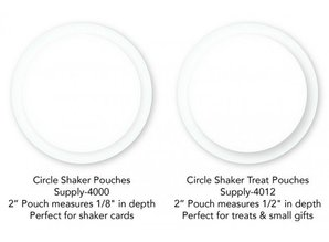 My Favorite Things Shaker Pouches Circle Treat (SUPPLY-4012)