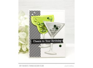 My Favorite Things Shaker Pouches Martini Shaker (SUPPLY-4014)