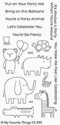 My Favorite Things Safari Party Clear Stamps (CS-295)