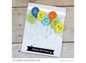 My Favorite Things Die-Namics Balloon Alphabet (MFT-1275)