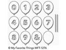 My Favorite Things Die-Namics Balloon Numbers (MFT-1276)