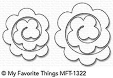 My Favorite Things Die-Namics Mini Rolled Roses (MFT-1322)