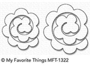 My Favorite Things Die-Namics Mini Rolled Roses (MFT-1322)