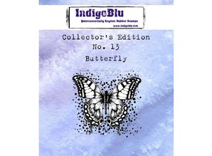 IndigoBlu Collectors Edition 13 Rubber Stamp - Butterfly (IND0406)