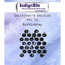 IndigoBlu Collectors Edition 14 Rubber Stamp - Bubblewrap (IND0407)
