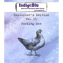 IndigoBlu Collectors Edition 15 Rubber Stamp - Dorking Hen (IND0408)