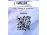 IndigoBlu Collectors Edition 16 Rubber Stamp - Letters (IND0409)