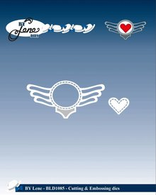 By Lene Metal Dies Rock Logo (BLD1085)