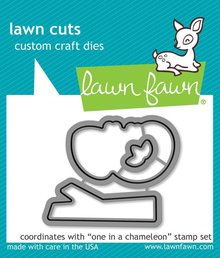 Lawn Fawn One in a Chameleon Dies (LF1550)