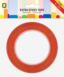JEJE Produkt Extra Sticky 6 mm 25 m lengte (3.3187)