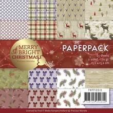 Precious Marieke Merry & Bright 6x6 Inch Paper Pack (PMPP10019)