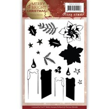 Precious Marieke Merry & Bright Clear Stamp Set (PMCS10032)