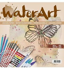 Water Art Aquarelpapier 12x12 Inch (1078)