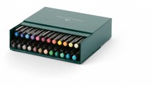 Faber Castell Tekenstift Pitt Artist Pen Brush 24-Delig Studiobox (FC-167147)