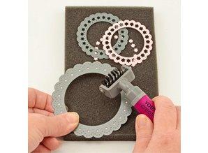 Vaessen Creative Die Brush & Foam Pad (3609-025)