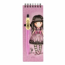 Gorjuss Sugar And Spice Jotter Pad With Pen (799GJ07)