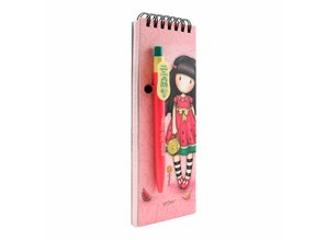Gorjuss Every Summer Has A Story Jotter Pad With Pen (799GJ08)