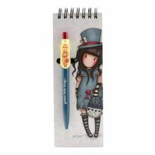 Gorjuss The Hatter Jotter Pad With Pen (799GJ10)