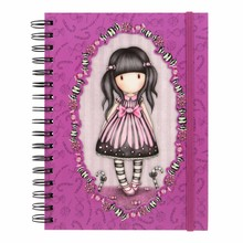 Gorjuss Sugar And Spice Double Cover Wirobound Journal (816GJ01)