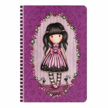 Gorjuss Sugar And Spice A5 Stitched Notebook (314GJ29)