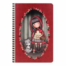 Gorjuss Little Red Riding Hood A5 Stitched Notebook (314GJ31)