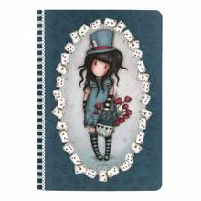 Gorjuss The Hatter A5 Stitched Notebook (314GJ32)