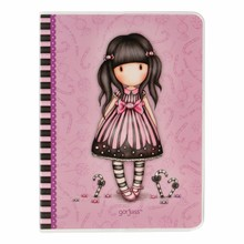Gorjuss Sugar And Spice Frosted Cover A6 Notebook (808GJ01)