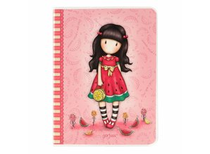 Gorjuss Every Summer Has A Story Frosted Cover A6 Notebook (808GJ02)