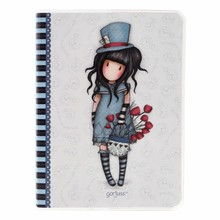 Gorjuss The Hatter Frosted Cover A6 Notebook (808GJ04)
