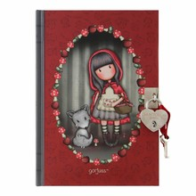 Gorjuss Little Red Riding Hood Lockable Journal (815GJ02)
