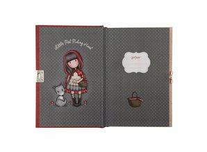 Gorjuss Little Red Riding Hood Lockable Journal (815GJ02)