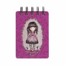 Gorjuss Sugar And Spice Mini Wirobound Notebook (598GJ10)