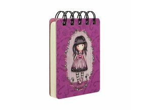 Gorjuss Sugar And Spice Mini Wirobound Notebook (598GJ10)
