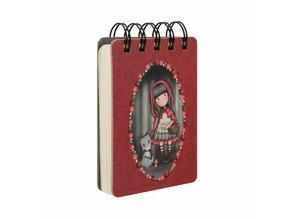 Gorjuss Little Red Riding Hood Mini Wirobound Notebook (598GJ12)