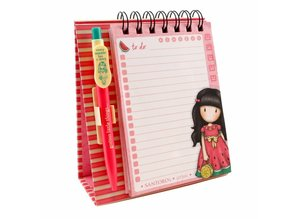 Gorjuss Every Summer Has A Story Standing Memo Pad With Pen (823GJ01)