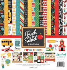 Echo Park Back To School 12x12 Inch Collection Kit (BTS156016)