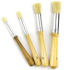 Paperpads.nl SELECT Stenciling Brushes Set