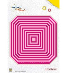 Nellie Snellen Multi Frame Booklet Square (MFD116)