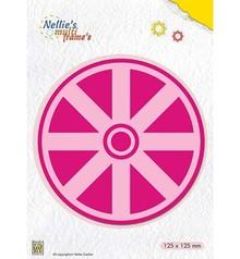 Nellie Snellen Multi Frame Kaleidoscope Wheel (MFD117)